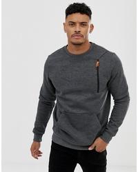 dunkelgraues Sweatshirt von BLEND