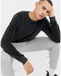 dunkelgraues Sweatshirt von D-struct