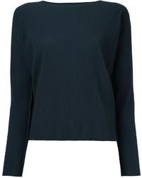 dunkelgraues Sweatshirt von Issey Miyake