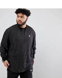 dunkelgraues Sweatshirt von Le Breve