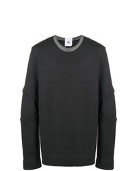 dunkelgraues Sweatshirt von Lost & Found Rooms