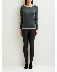 dunkelgraues Sweatshirt von Object