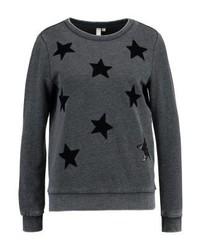 dunkelgraues Sweatshirt von s.Oliver