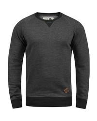 dunkelgraues Sweatshirt von Solid
