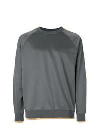 dunkelgraues Sweatshirt von Stussy