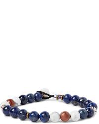 dunkelgraues Perlen Armband von Mikia