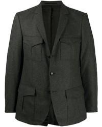 dunkelgraues Wollsakko von Karl Lagerfeld