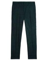dunkelgrüne Anzughose