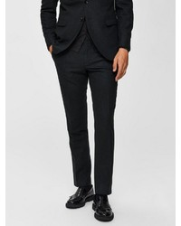 dunkelgrüne Anzughose von Selected Homme