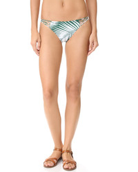 dunkelgrüne Bikinihose von Mikoh