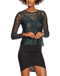 dunkelgrüne Bluse von New Look