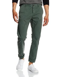 dunkelgrüne Chinohose von ONLY & SONS
