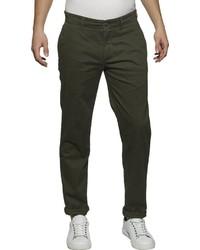 dunkelgrüne Chinohose von Tommy Jeans