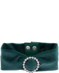 dunkelgrüne enge Halskette von G.V.G.V.