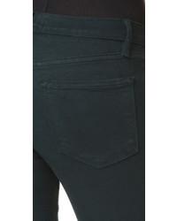dunkelgrüne enge Jeans von Frame