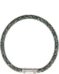 dunkelgrüne Halskette von Acne Studios