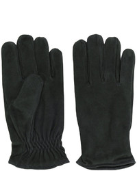 dunkelgrüne Handschuhe von Lardini