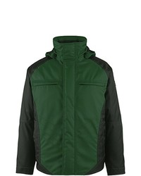 dunkelgrüne Jacke