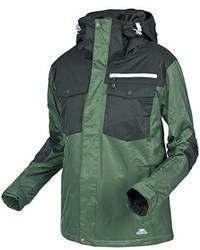 dunkelgrüne Jacke von Trespass