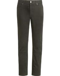 dunkelgrüne Jeans von Ermenegildo Zegna