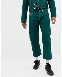 Modische dunkelgrüne Jeans für Herren für Winter 2020 kaufen