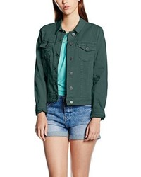 dunkelgrüne Jeansjacke von s.Oliver
