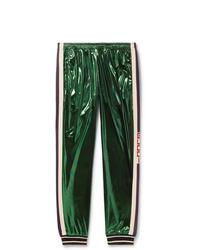 dunkelgrüne Jogginghose von Gucci
