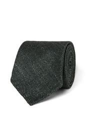 dunkelgrüne Krawatte von Drakes