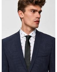 dunkelgrüne Krawatte von Selected Homme