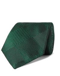 dunkelgrüne Krawatte von Turnbull & Asser