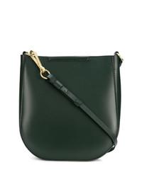 dunkelgrüne Leder Beuteltasche von Stiebich & Rieth