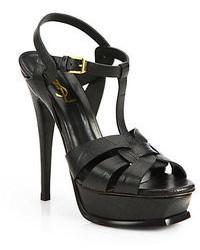 dunkelgrüne Leder Sandaletten