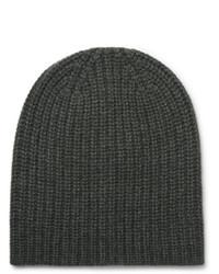 dunkelgrüne Mütze von Alex Mill