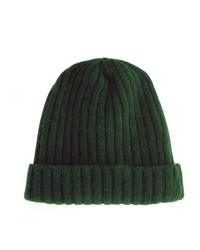 dunkelgrüne Mütze von Asos