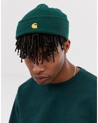 dunkelgrüne Mütze von Carhartt WIP