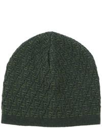 dunkelgrüne Mütze von Fendi