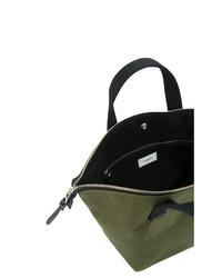 dunkelgrüne Reisetasche von Cabas