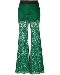 dunkelgrüne Schlaghose von Dolce & Gabbana
