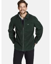 dunkelgrüne Shirtjacke von Jan Vanderstorm