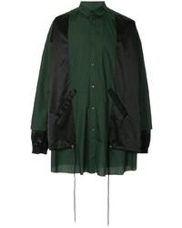 dunkelgrüne Shirtjacke von Kidill