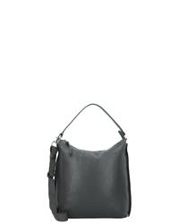 dunkelgrüne Shopper Tasche aus Leder von Bree