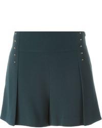 dunkelgrüne Shorts von Derek Lam 10 Crosby