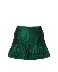 dunkelgrüne Shorts von Giorgio Armani Vintage