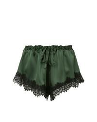 dunkelgrüne Shorts von Macgraw