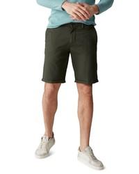 dunkelgrüne Shorts von Marc O'Polo