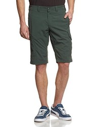 dunkelgrüne Shorts von Salewa