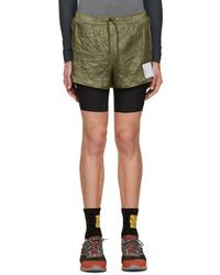 dunkelgrüne Shorts von Satisfy