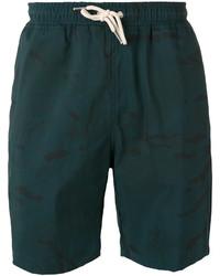 dunkelgrüne Shorts von Soulland