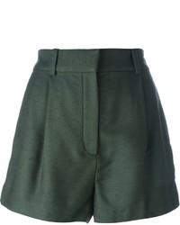 dunkelgrüne Shorts von Versace