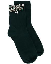 dunkelgrüne Socken von Twin-Set